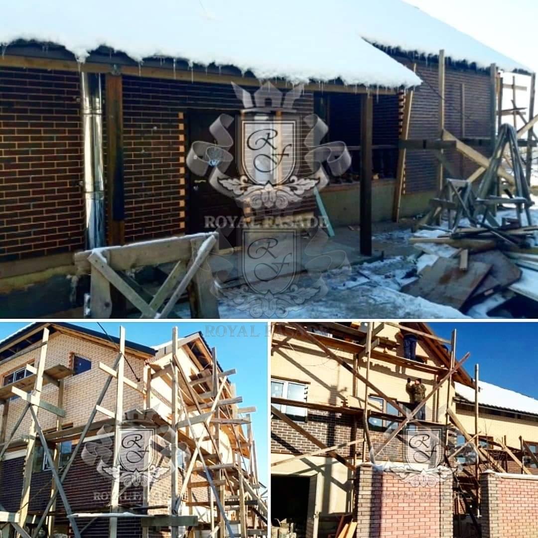 Монтаж термопанелей зимой и без проблем